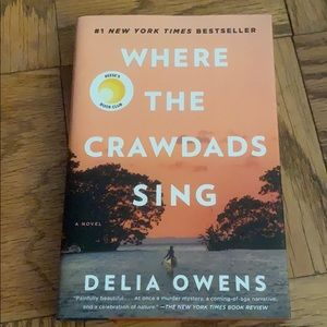 EUC hardcover book - Where the crawdads sing